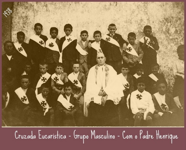 Padre Henrique e Cruzada Eucaristica1938
