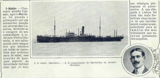 Recorte de Ilustração Portugueza, No. 563, December 4 1916 - 20- Via T of Dias que Voam blog. Ilustração Portuguesa