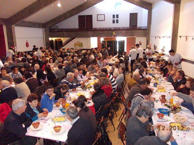 almoço solidário 2012 13