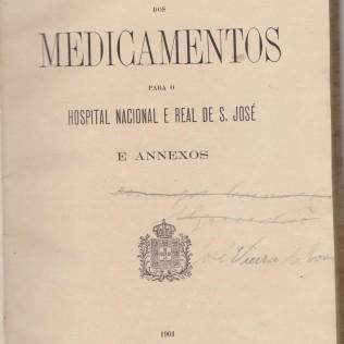 Formulário de Medicamentos que pertencia a José Vieira da Rosa