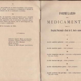 Formulário de Medicamentos pertença de José Vieira da Rosa
