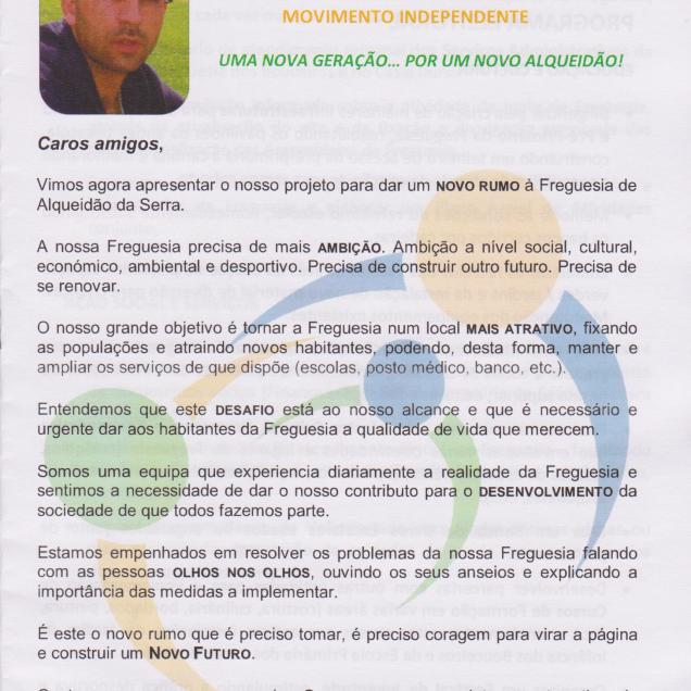 Programa Eleitoral JFAS Pag1
