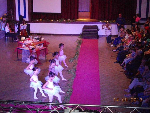 Alunas da escola de dança