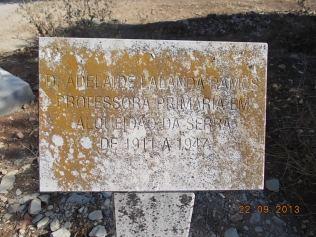 D.Adelaide Lalanda Ramos Professora Primária em Alqueidão da Serra de 1911 a 1947