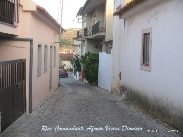 Rua Comandante Afonso Vieira Dionisio