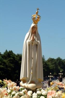 imagem de Nossa Senhora Peregrina