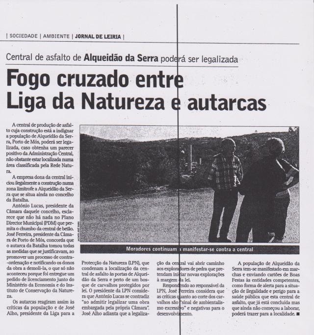 Jornal de Leiria 15 de Janeiro de 2004