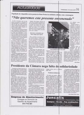 O Portomosense 15 de Janeiro de 2004