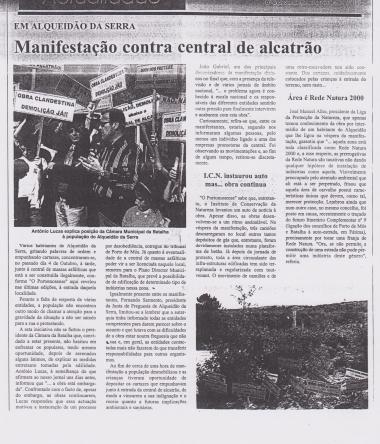 Jornal O Portomosense 9 de Outubro de 2003
