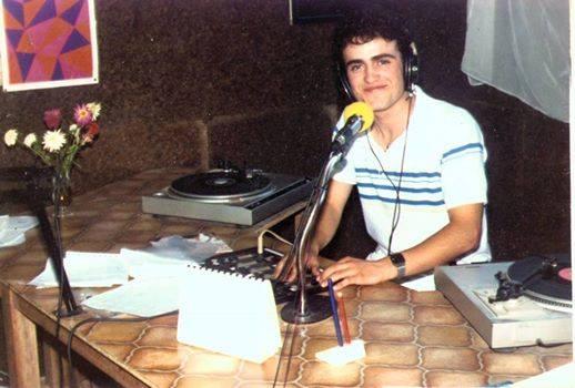 Rádio Cruzeiro - Dezembro de 1987 com Rogério Paulo