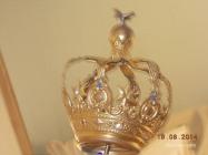 Coroa da Imagem de Nossa Senhora do Rosário que se venera na Igreja Paroquial