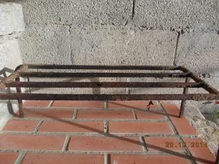 Trempe para colocar as panelas em cima do lume