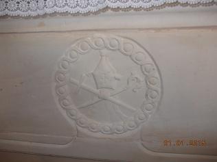 Capela da Tojeirinha - Pedra do Altar onde estava a imagem de São Sebastião - A pedra veio da pedreira das lombas
