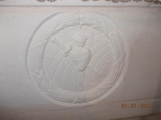 Capela da Tojeirinha -Pedra do Altar onde estava a imagem do Sagrado Coração de Jesus. A Pedra que veio da pedreira das Lombas
