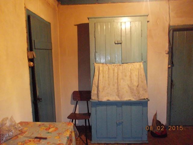 Aspecto da coizinha. Tinha uma porta para a dispensa onde se colocavam as talhas do azeite e as salgadeiras entre outras coisas