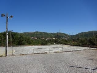 Ring desportivo junto à sede do CCR