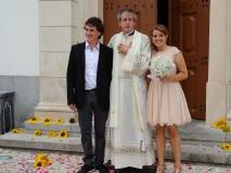 Padre Manuel Pedro no Casamento da Ana Raquel
