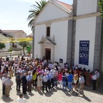 Descerramento da placa comemorativa dos 400 anos de freguesia