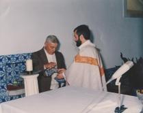 Com o Padre Frazão