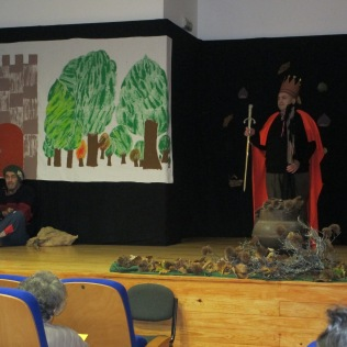 Peça de Teatro do Dia de São Martinho no Centro de Dia 2015