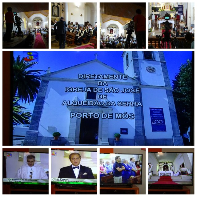 Missa Transmitida pela TVI