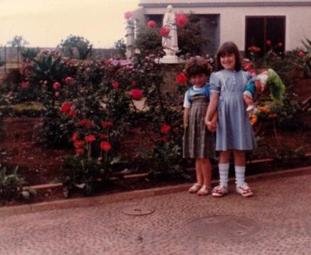 Crianças do Abrigo de Nossa Senhora de Fátima no Funchal em 1983