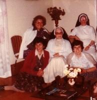 Irmãs do Abrigo de Nossa Senhora de Fátima no Funchal em 1983