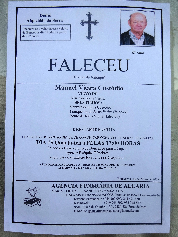 15 Manuel Vieira Custódio