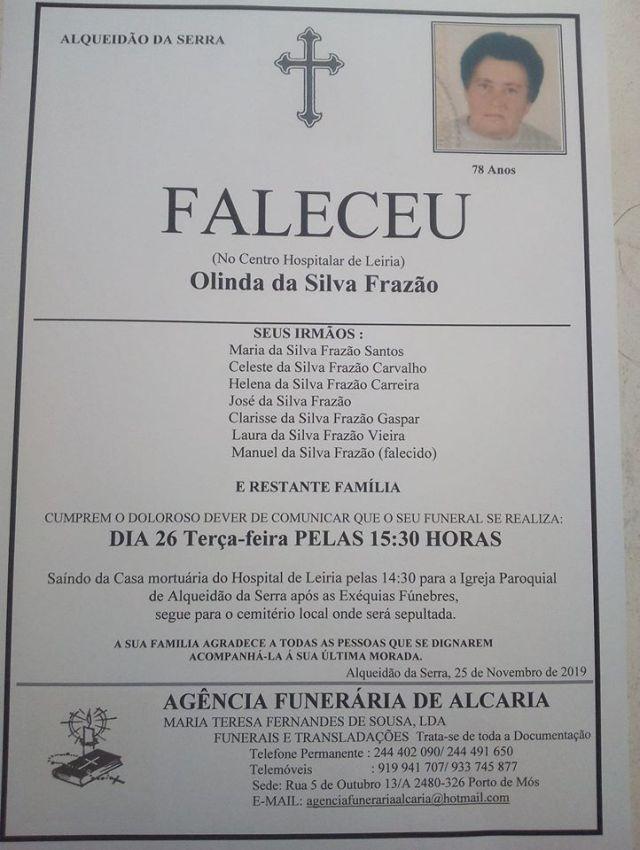 24 Olinda da Silvaa Frazão