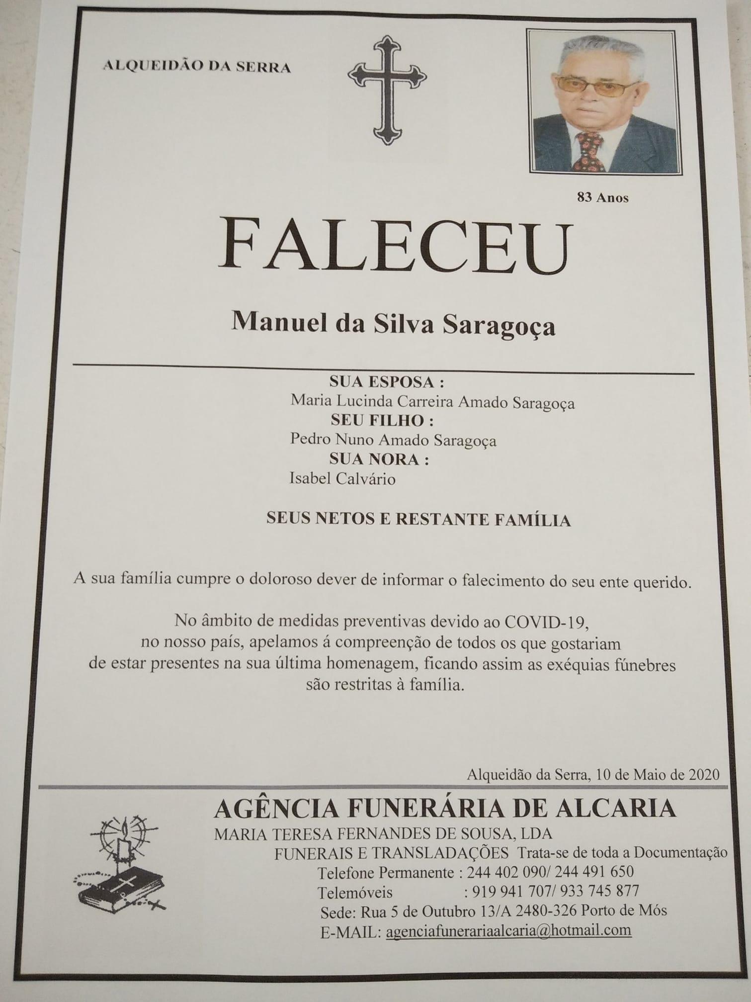 Manuel da Silva Saraçoça
